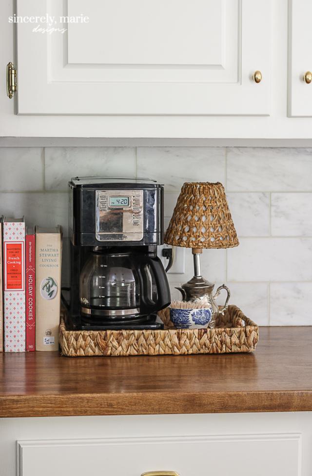 Our Lived In Kitchen Refresh Sincerely Marie Designs Kitchen Refresh Kitchen Countertop Decor Cottage Style Kitchen
