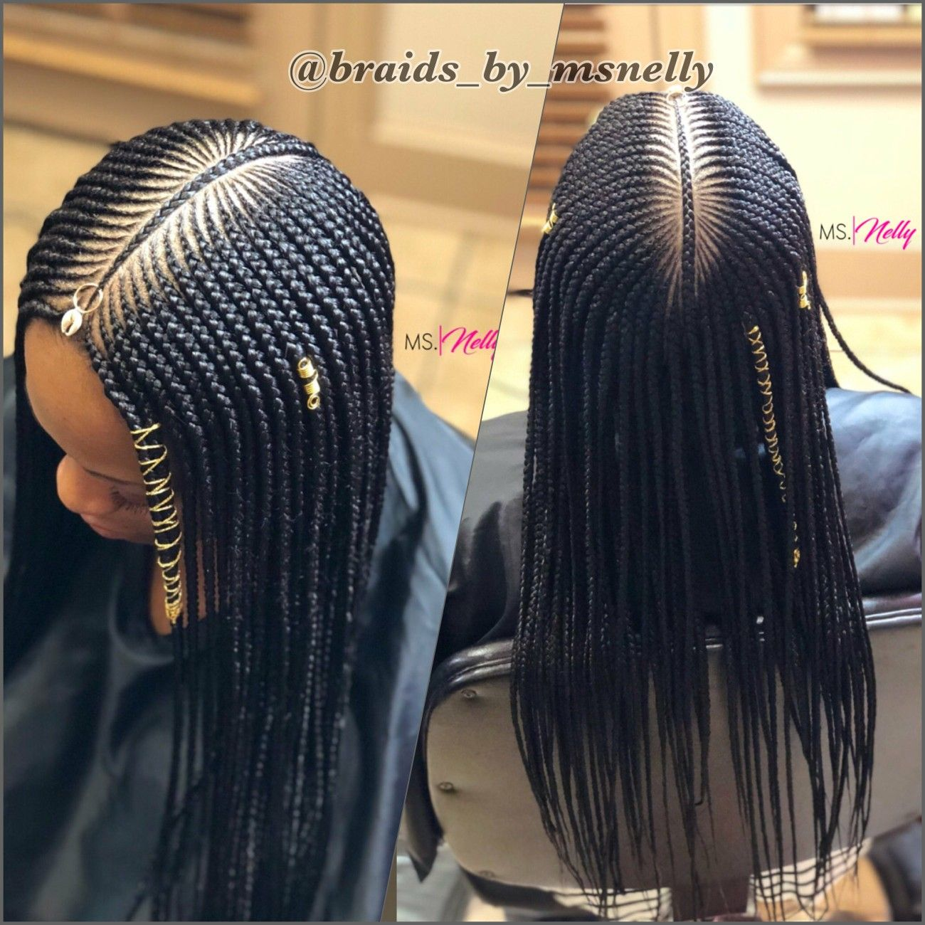 Tribal braids lemonade braids side braids formation braids small