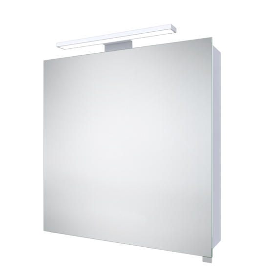 Led Mirror Cabinet With Integrated Shaver Socket