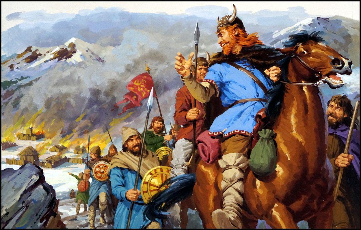 Jack Keay Vercingetorix Versus Julius Caesar For The Fate Of