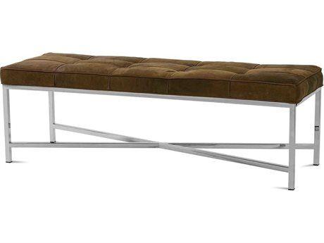 Amazing Rowe Furniture Elsa Leather Ottoman In 2019 Meadowlark Inzonedesignstudio Interior Chair Design Inzonedesignstudiocom