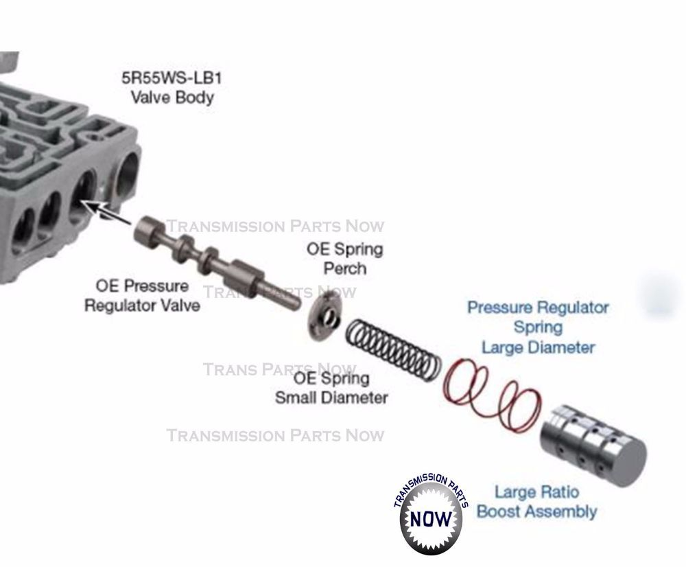Ford 5r55w S 5r55ws Lb1 Line Pressure Booster Kit Explorer Mustang 5r55ws Lb1 Mecanico De Autos Autos Mecanico