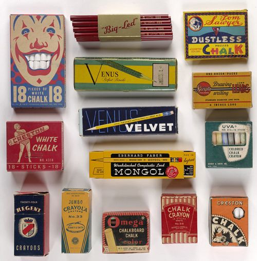 Vintage Chalk Packaging