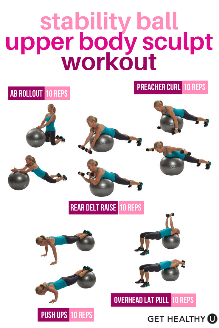 Exercise Ball Workouts 99
