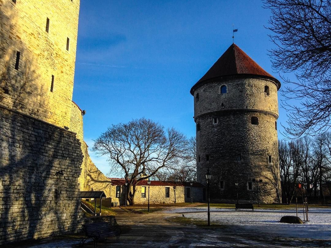 Talinn in Estonia. Beautiful old city on the coast. We got the ferry over from Helsinki in Finland #talinn #estonia #europe #wanderlust #f4falways #f4f #followme #follow4follow #followforfollow #eurotrip by traveling_photography_brit