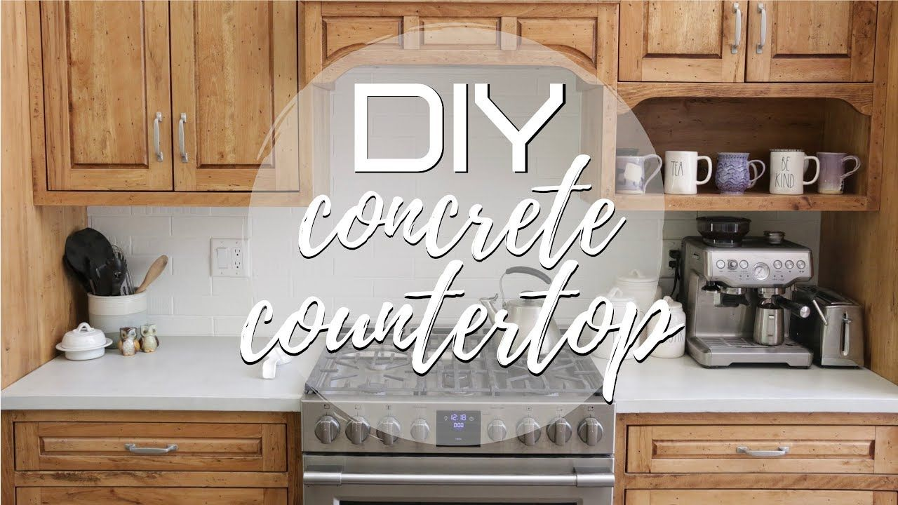 How to make a professional stain proof concrete