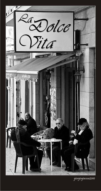 """""""La Dolce Vita"""", a photo from Ragusa, Sicily"""