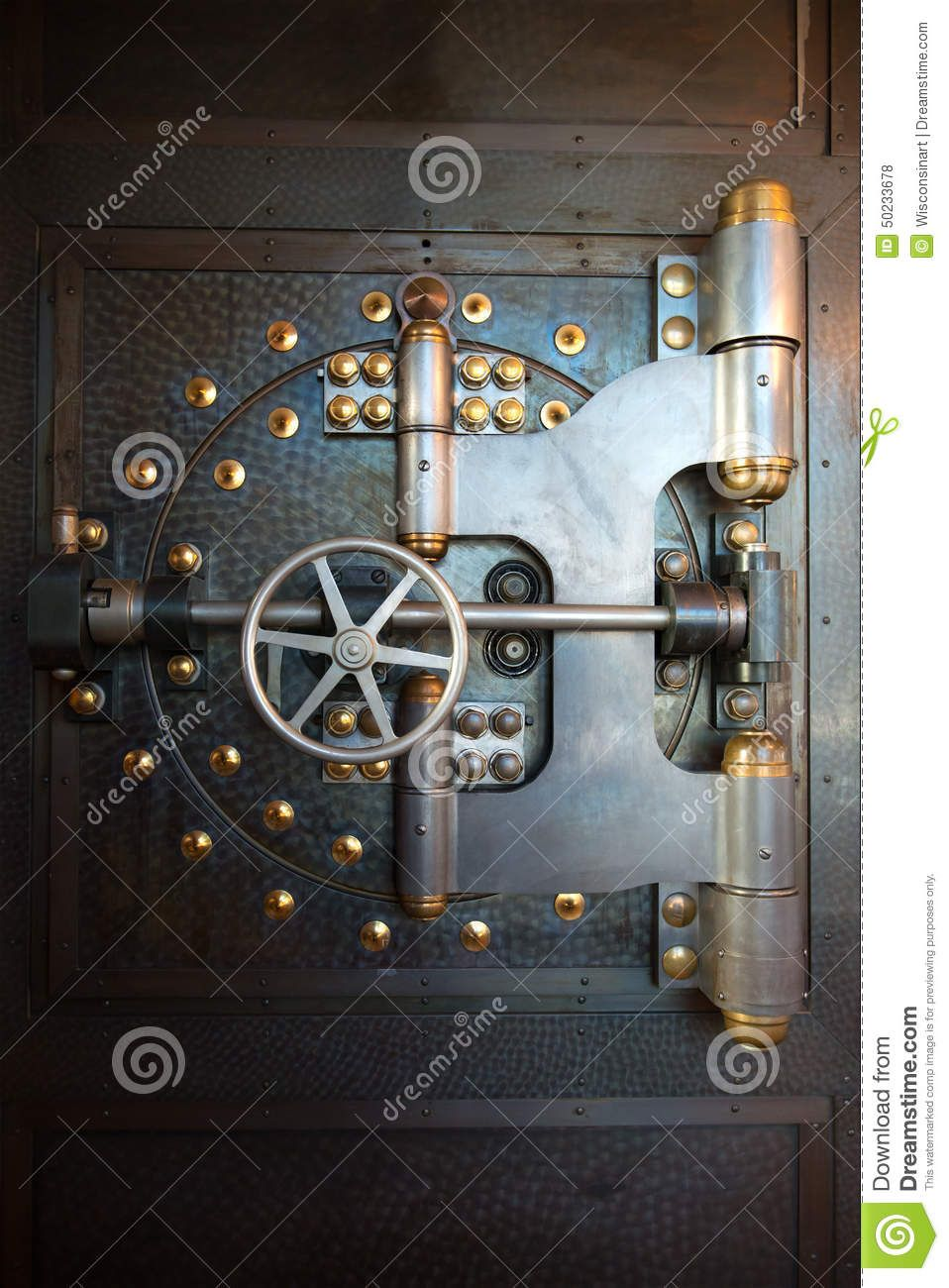 Vintage Bank Vault Door Safe Download From Over 45
