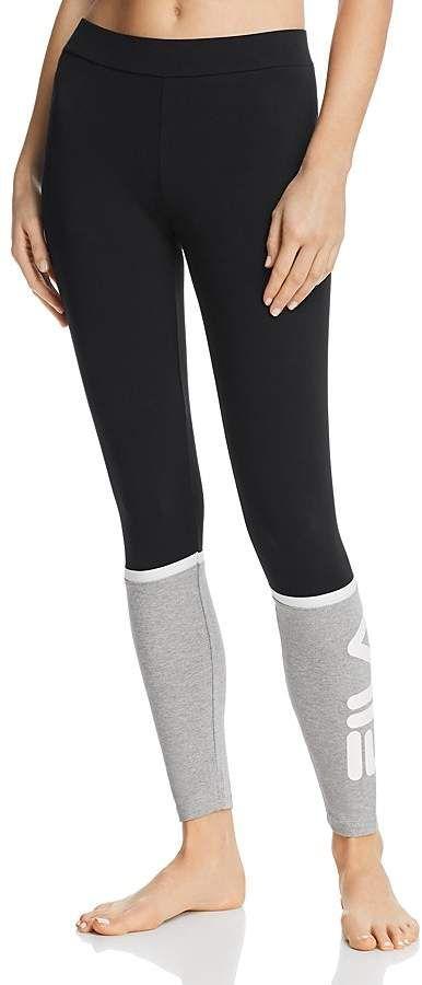 f8827df779da1 Fila Paloma Color-Block Leggings Women's Leggings, Color Blocking, Wings,  Women's Legwear