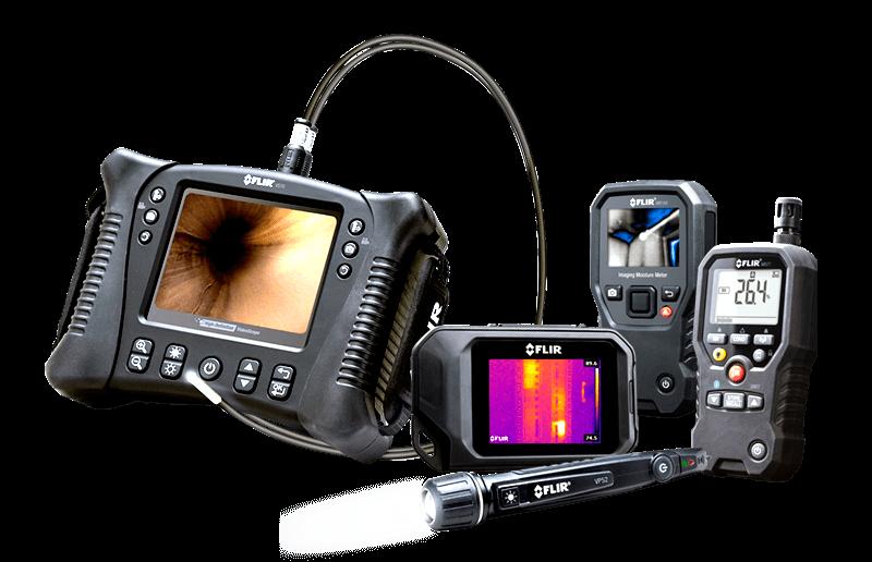 Thermal Imaging Cameras for Building Applications FLIR