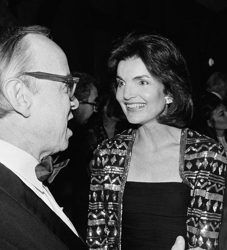 1978 - Talking with Arthur Schlesinger Jr. at a publishing party