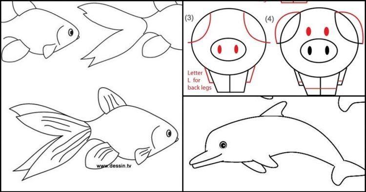 Gambar Sketsa Hewan Kucing Sketsa Gambar Hewan Kegiatan Mewarnai Atau Menggambar Merupakan Aktivitas Menyenangkan Bagi Anak Gambar Simpel Gambar Hewan Gambar