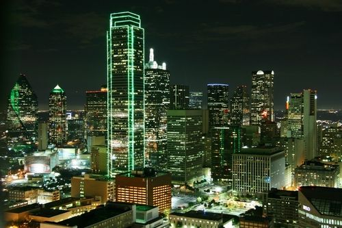 Rooftop At The Hyatt Regency Dallas Reuniontower Downtown Dallas Dallas Downtown