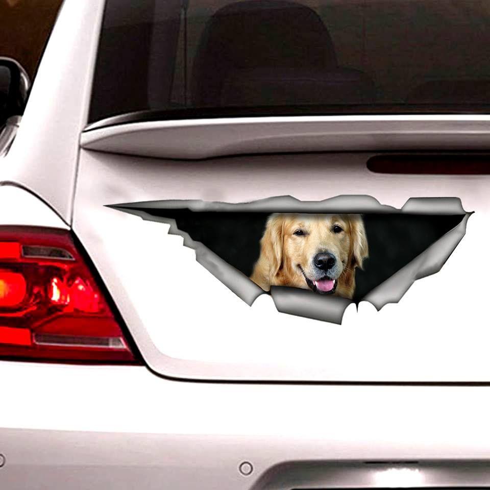 Best Golden Retriever Sticker 2019 New Golden Retriever Golden Puppy Dog Stickers [ 960 x 960 Pixel ]