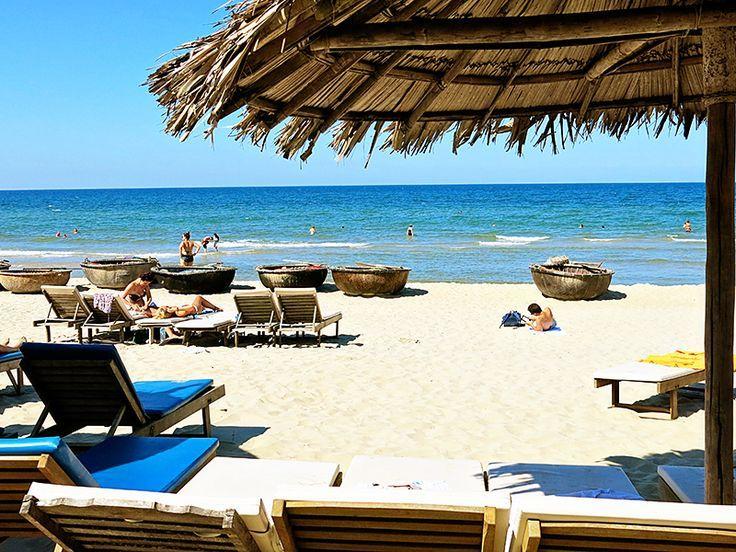 Relaxing On The Hoi An Beaches Cua Dai Beach Vs Bang