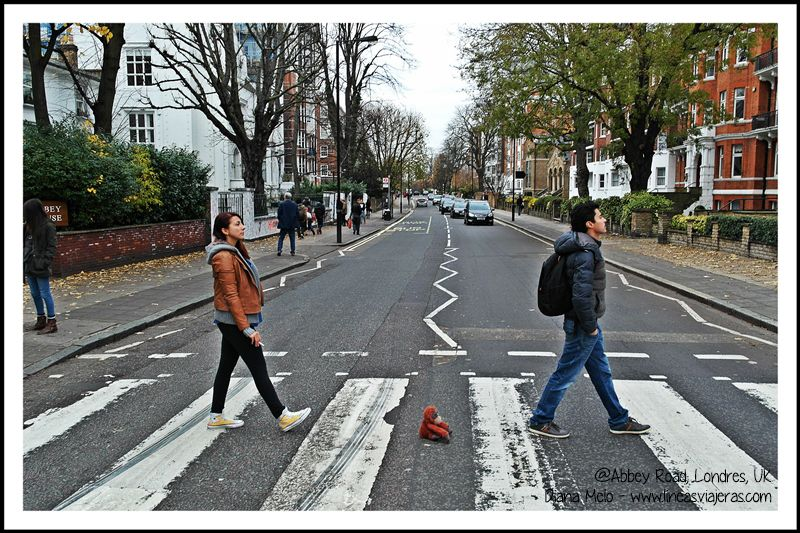 Marco Polo en Abbey Road, London, UK. Como The Beatles | Marco Polo ...