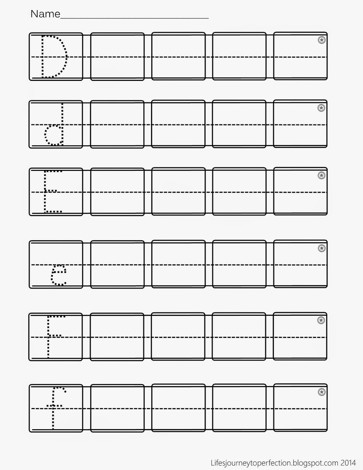 Preschool Practice ABC Writing Worksheet Printables   aaban ...