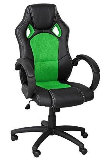 Bürosessel  Racing Gaming Sportsitz Chefsessel Drehstuhl Bürosessel ...