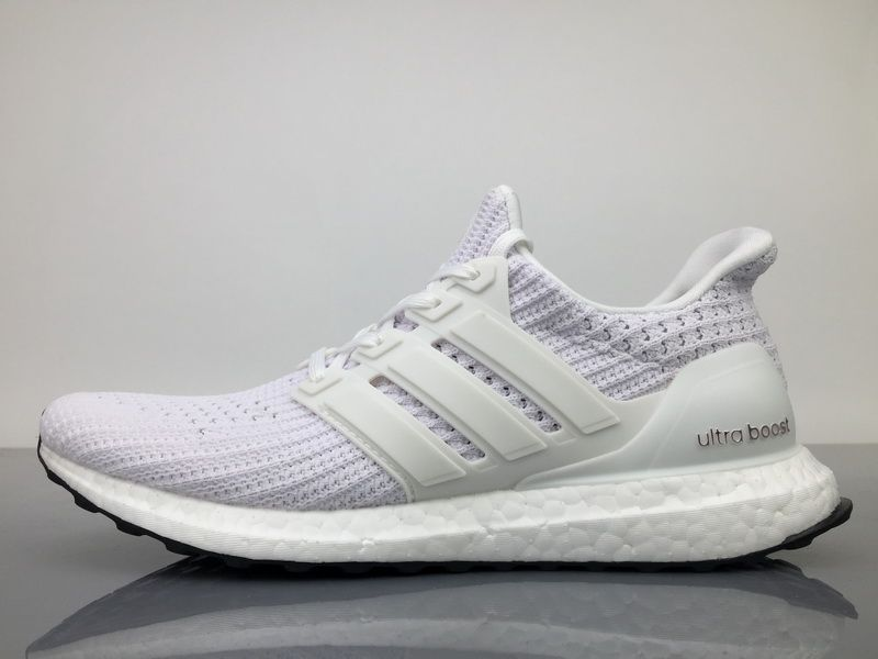 Adidas Ultra Boost 4 BB6168 White Black Real Boost for Sale  4045