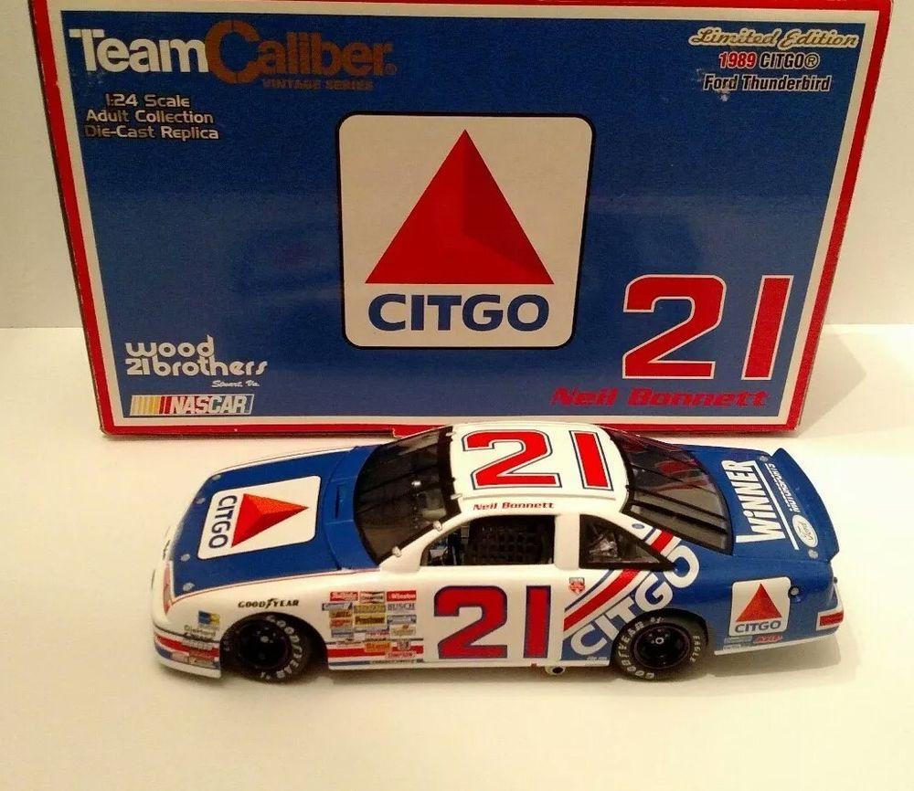 Neil Bonnett #21 Citgo 1989 Ford Thunderbird 1/24 Team