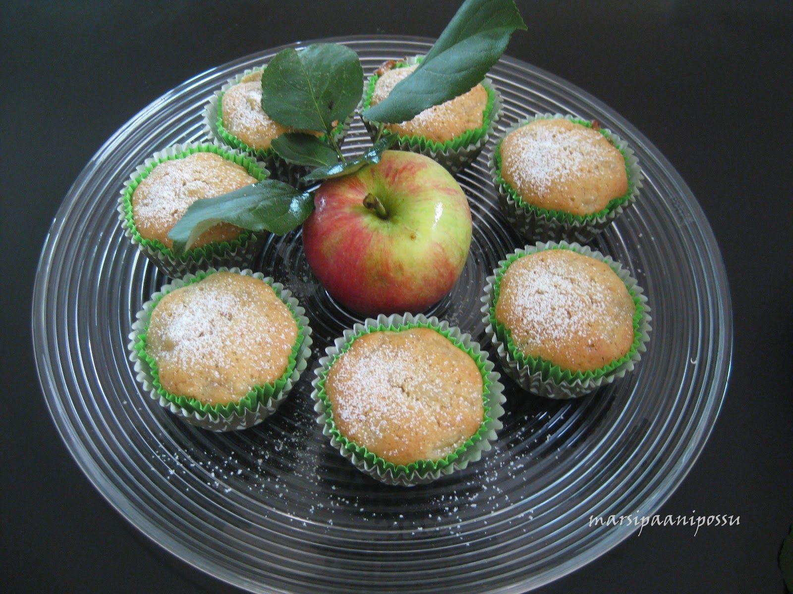 Marsipaanipossu: Omenamuffinssit