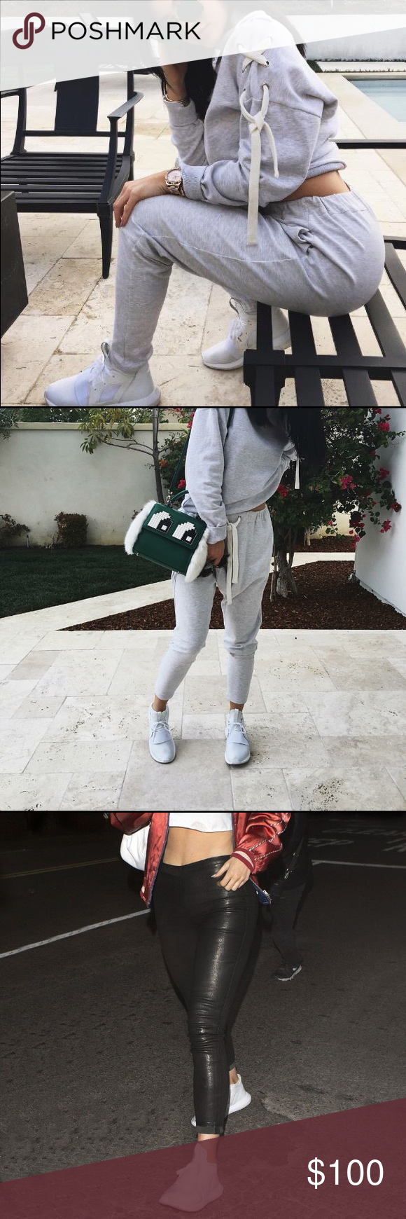 cheap for discount 07757 50d4f Kylie Jenner tubular defiant adidas Super comfortable and cool icy white adidas  shoes. Makes your
