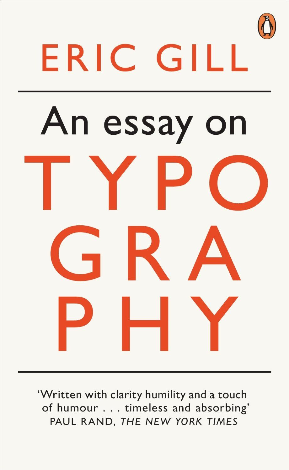 an essay on typography eric gill penguin on design graphic  an essay on typography eric gill penguin on design