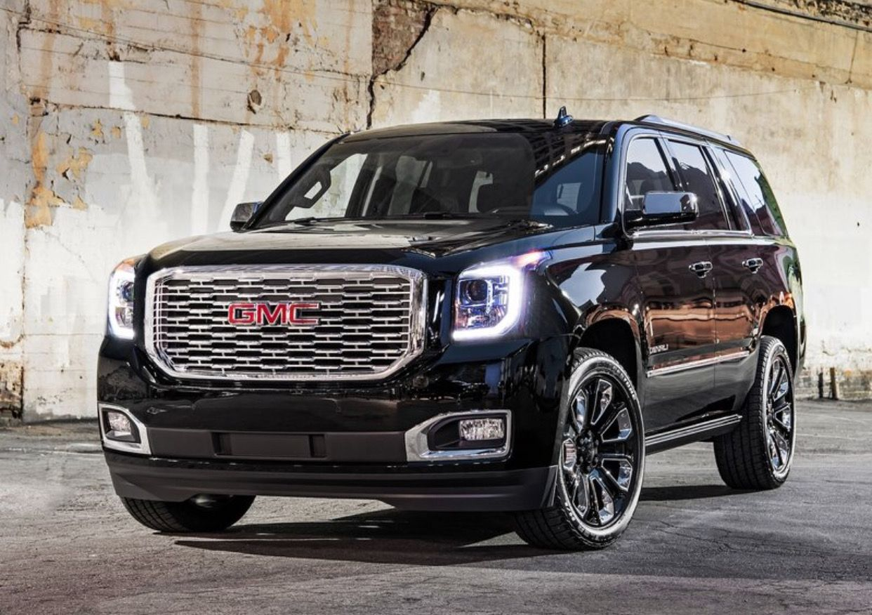 Gmc Denali Luxurious Vehicle Gmc Is Elevating The 2018 Yukon Denali Lineup With Styling And Trim Enhancements As