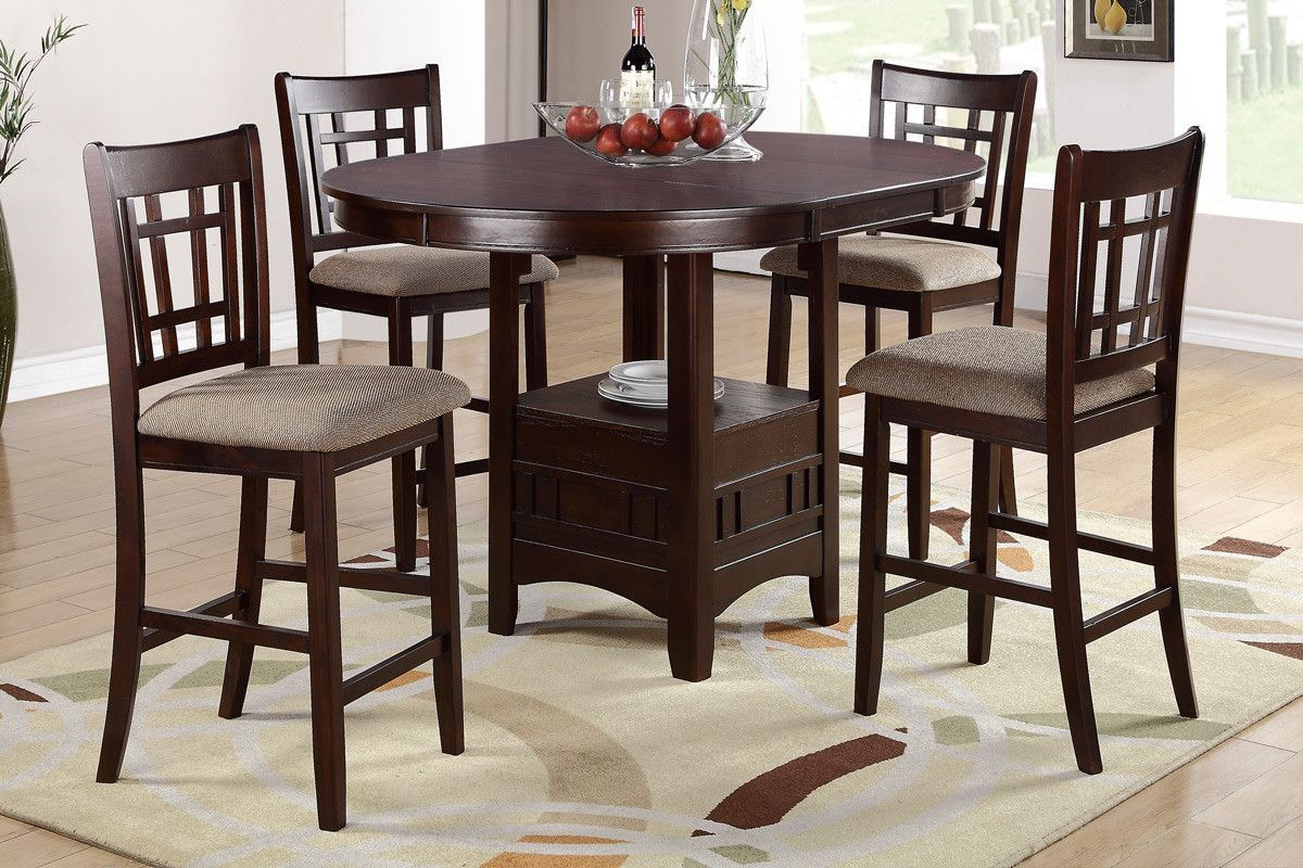 9 Piece Dining Set   Counter Height   Counter height dining table ...