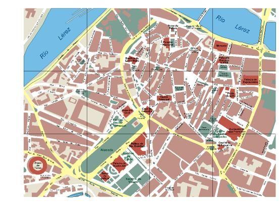Mapa De Pontevedra Ciudad.Pontevedra Mapas Del Mundo Mapas Guia Turistico