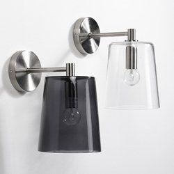 Wandlamp in glas Globi