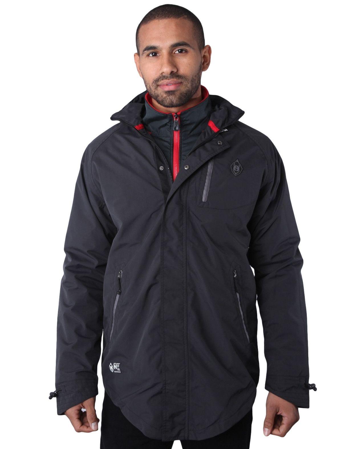Psyberia Men's Internationalist Waterproof Nylon Jacket