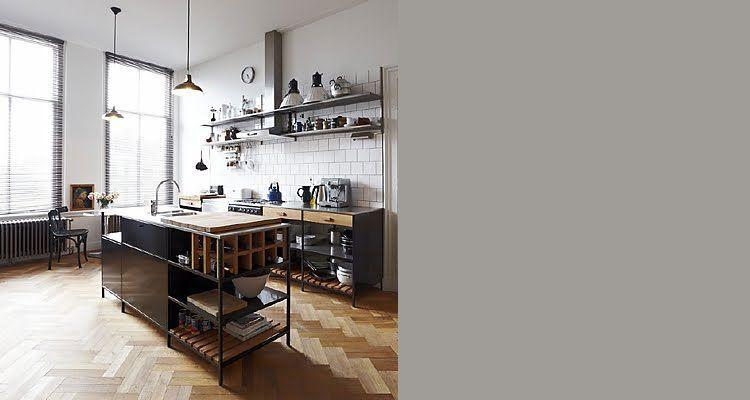 De 15 mooiste industriële keukens! voor een stoere look pinterest