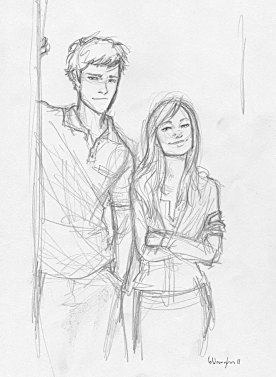 Watched A Couple Episodes Yesterday. #dork | Burdge | Pinterest | Couples Drawings And Sketches