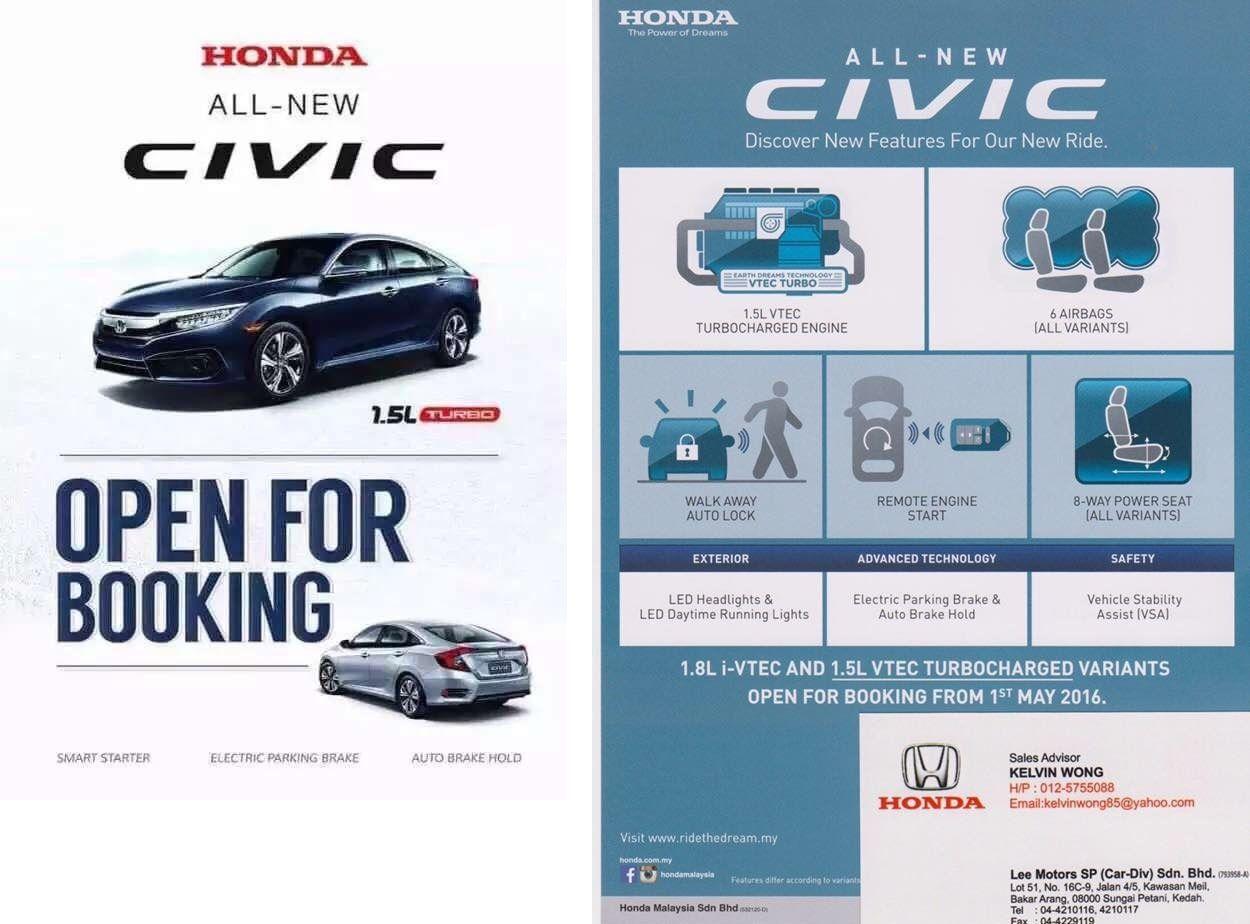 Civic malaysia spec 00