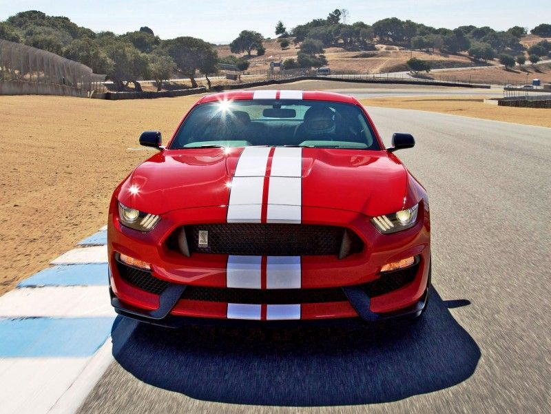Race Red Mustang With White Stripes Google Search Red Mustang