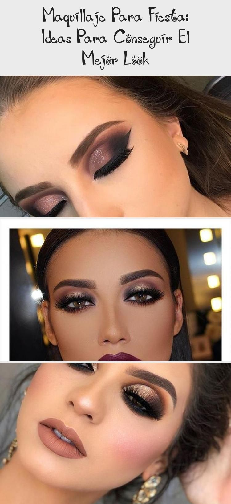 Maquillaje Para Fiesta De Dia Maquillaje Para Fiesta De Noche Paso A Paso Maquillaje Para Fiesta De Dia Maquill In 2020 Best Makeup Products Party Makeup Makeup Ide