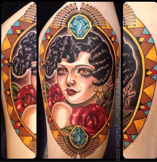 Femininity And The Tattoo Industry Inked Magazine Rose Hardy Tattoos Female Tattoo Artists