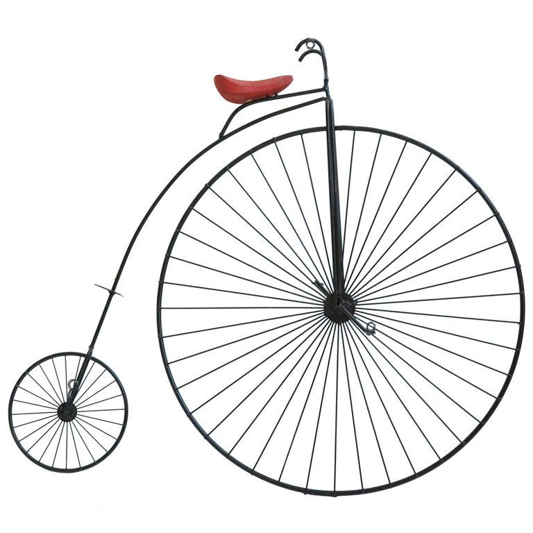 Curtis Jere Penny Farthing Wall Sculpture At 1stdibs Com The