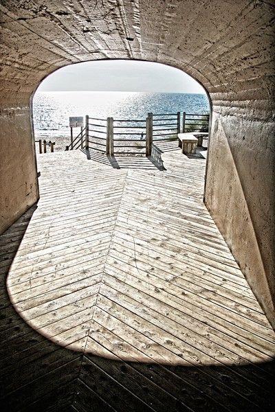 Holland Michigan Area Tunnel Beach