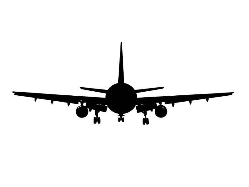 Самолет – Lipdus Окно Наклейки