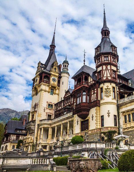 Peleș Castle, Romania, 1883