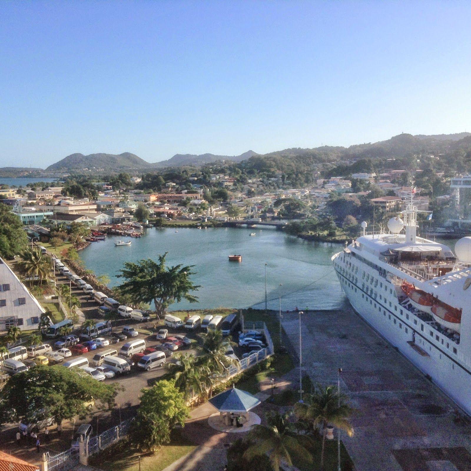 St Lucia Cruise Port
