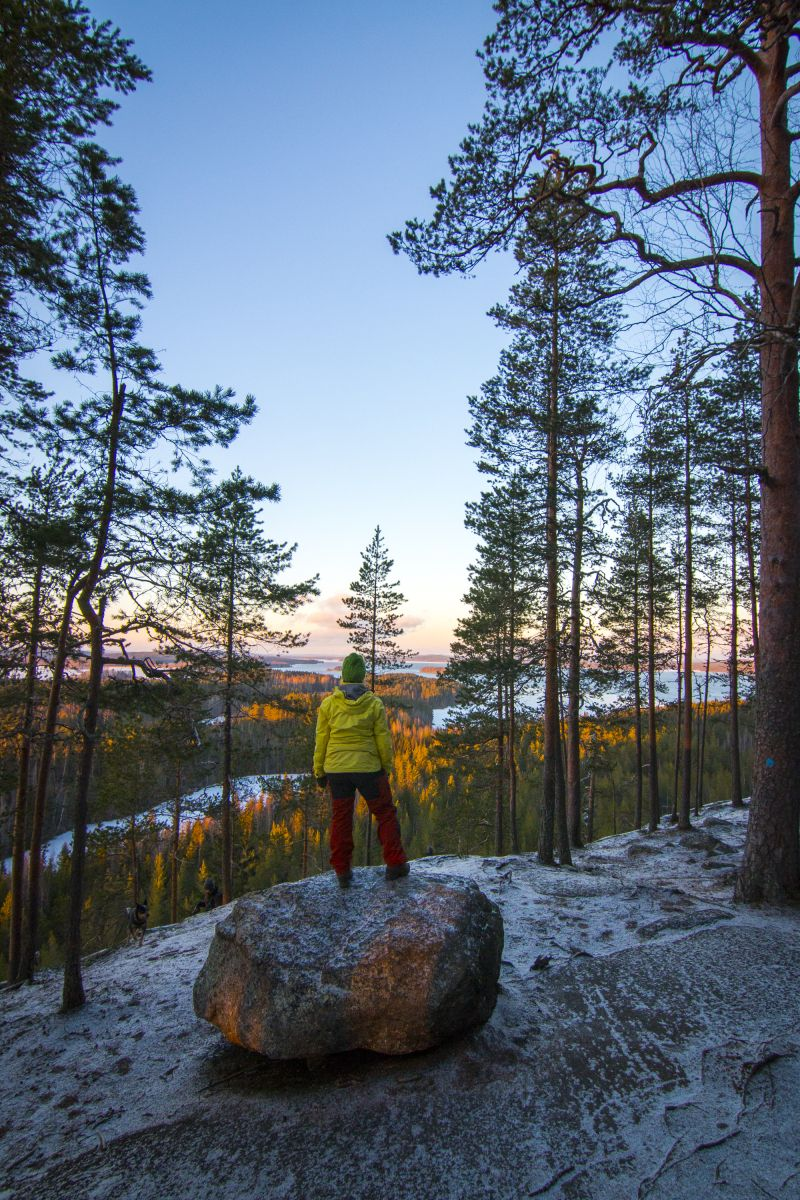 "This hill is located about 30 kms from Jyväskylä towards Laukaa and it has been playfully dubbed ""Koli of Middle Finland"". #hyyppäänvuori #laukaa #finland"