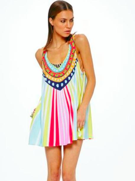 dd97f3d769d4 Mara Hoffman Swing Dress Rays Pink | Mara Hoffman - Boutique Flirt ...