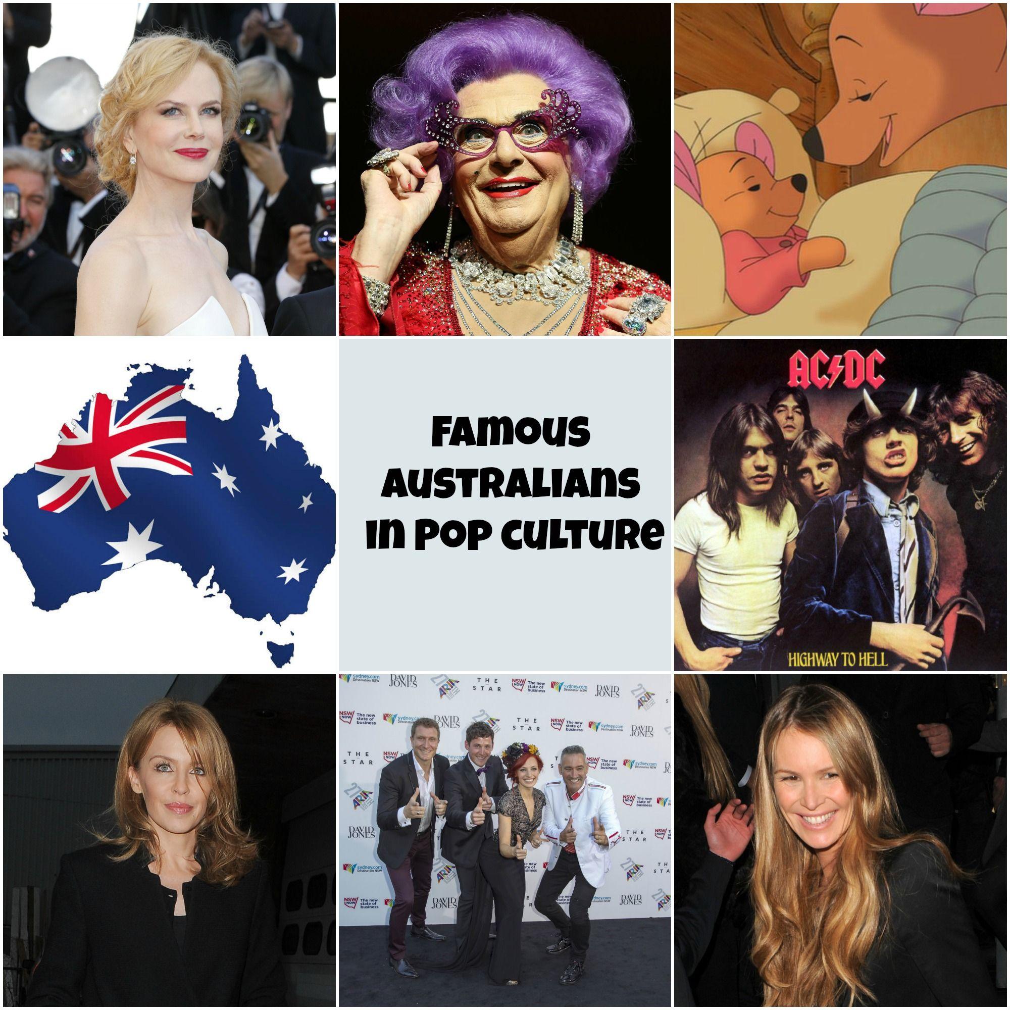 Pop Culture: Happy Australia Day! Our 13 Favorite Australians In Pop
