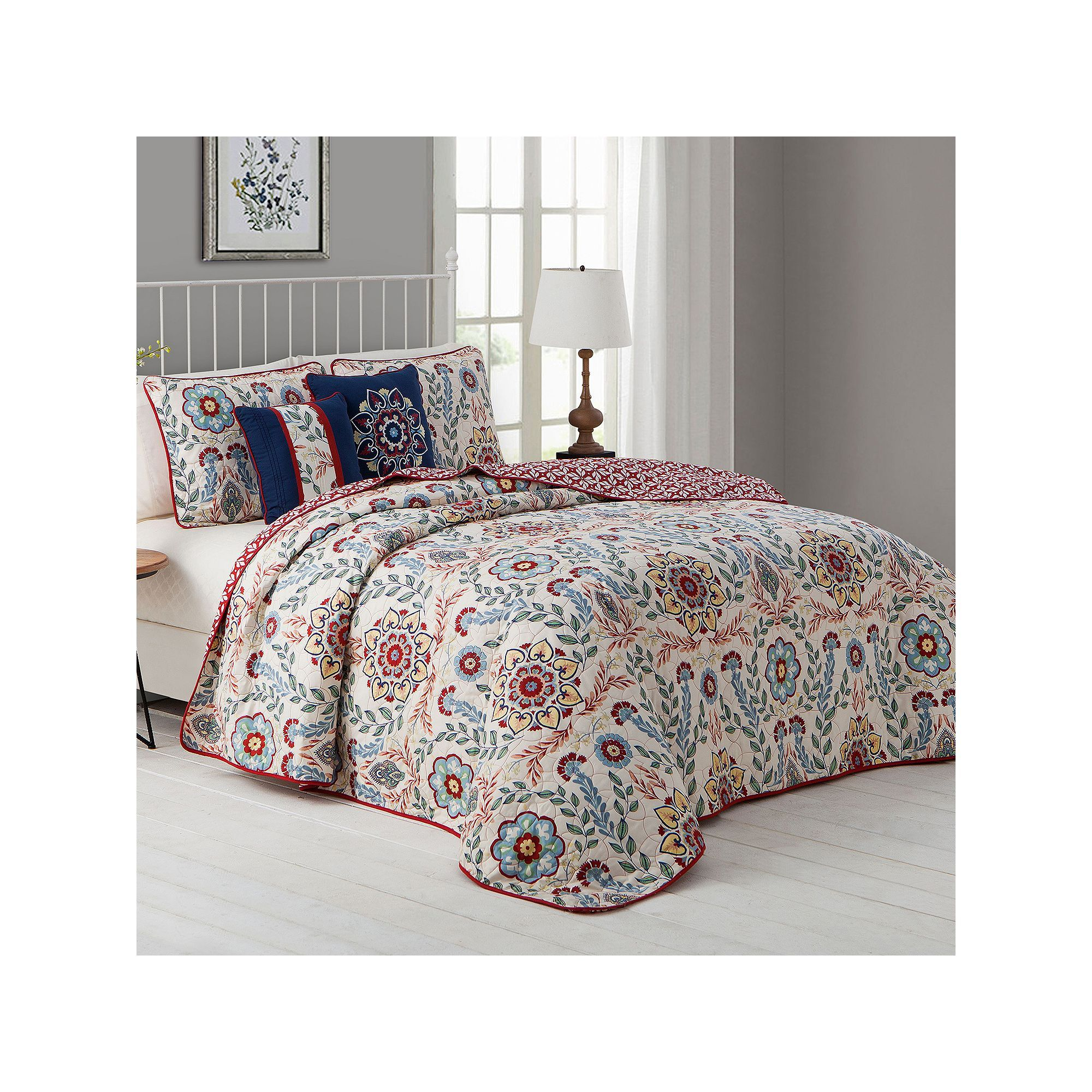 Quilt Sets Avondale Manor 5 Piece Valena Quilt Set Products Quilt Sets