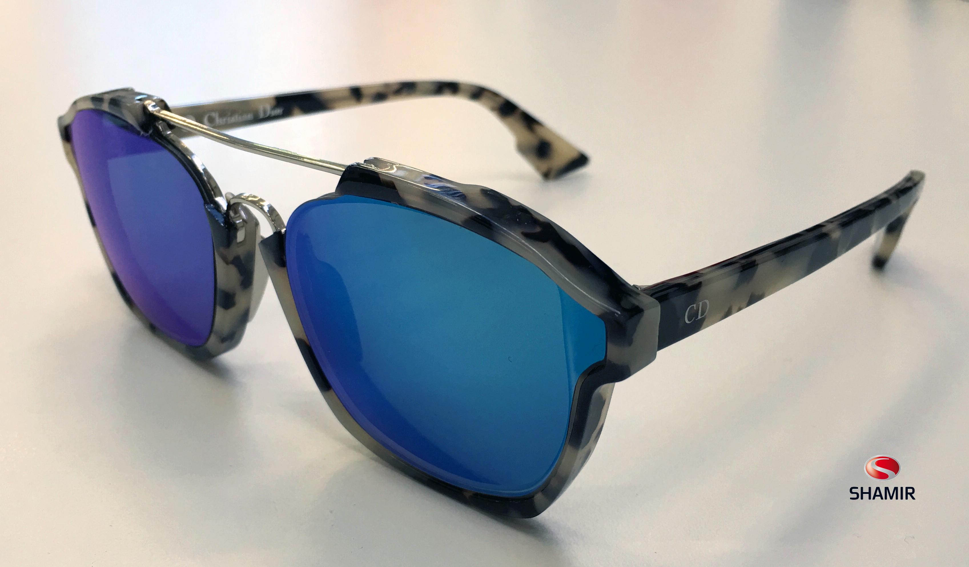 Nuovo montaggio speciale   occhiale Christian Dior realizzato presso i  laboratori Shamir Rx bbe94af59b