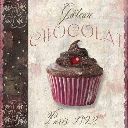 Cupcake - Chocolat