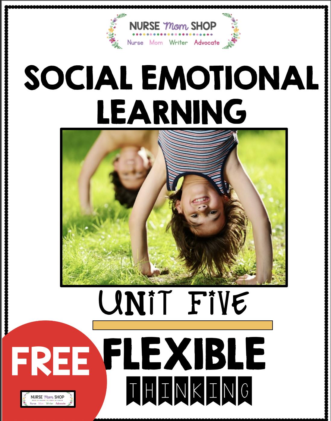Free Kindergarten Social Emotional Learning Printables